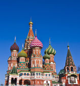 Moscow, St. Basil's (Intersession) cathedral — Stock Photo