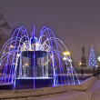 Stock Photo: Electric fountain, Moscow