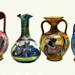 Ancient amphoras — Stock Photo