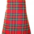 Royal Stewart kilt — Stock Photo