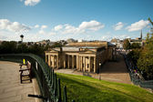 Edinburgh City in the summer time. Scotland. — Stock Photo
