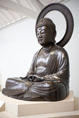 Buddah statue displayed in The National Museum of Scotland in Edinburgh — Stock Photo