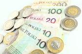 Polish currency - ZLOTY — Stock Photo