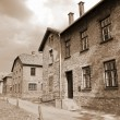 Auschwitz Birkenau concentration camp — Stock Photo #8010740