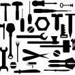 Hand tools and DIY tools — Stock Photo