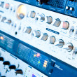 Amplifier equipment - Stock Photo