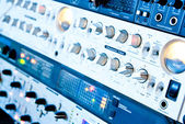 Amplifier equipment — Stock Photo