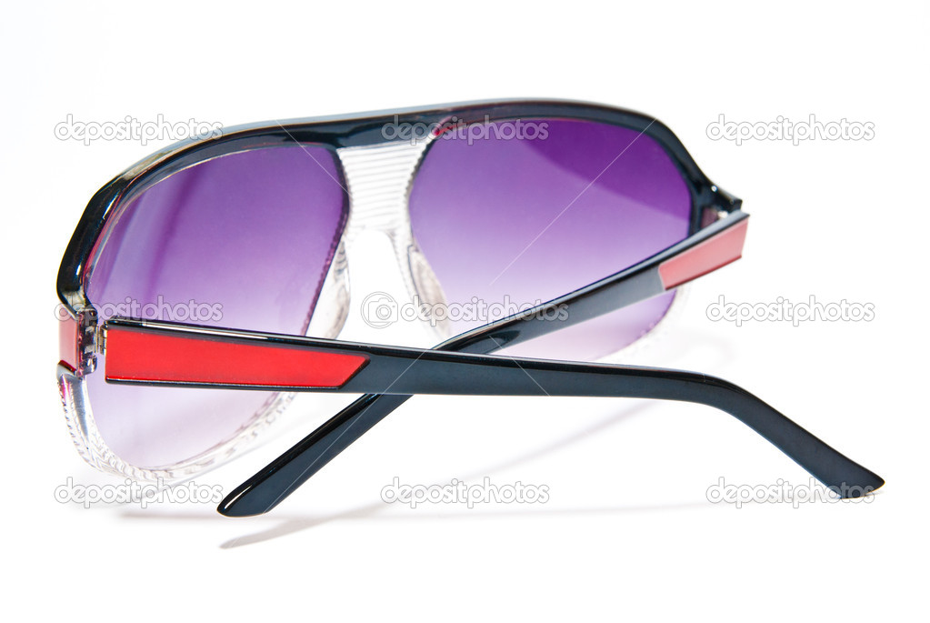 Sunglasses isolated on white background — Stock Photo #7981878