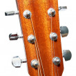 Guitar fingerboard — Stockfoto