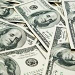 Background of dollars — Stock Photo #8764494