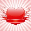 Royalty-Free Stock Vector Image: Valentine\'s heart