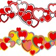 Royalty-Free Stock Immagine Vettoriale: Valentines hearts