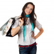 Attractive woman shopping — Stock Photo #10389741