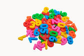 Colorful digit — Stock Photo