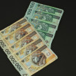 Stock Photo: Polish banknotes