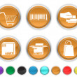 Stock Vector: Commerce icons