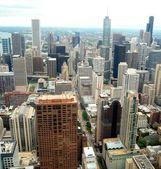 Hoge stijging gebouwen in chicago, illinois usa — Stockfoto
