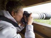 制作一张照片张照片 — 图库照片