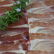 Iberian ham — Stock Photo