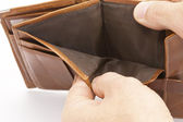 Empty Wallet — Stock Photo
