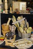 Artesanías de madera — Foto de Stock