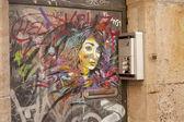 Sokak sanatı — Stok fotoğraf