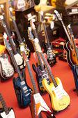 Miniature Guitars — Stock Photo