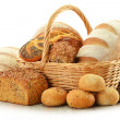 Composition with bread and rolls — Foto de Stock