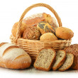 Composition with bread and rolls — Stock Photo #8711720