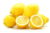 Lemons isolated on white — Stock Photo