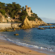 Stock Photo: Lloret de Mar beach