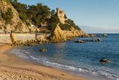 Lloret de Mar beach — Stock Photo