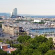 Royalty-Free Stock Photo: Panorama of the city of Barcelona Spain