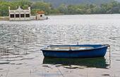 Lago de banyoles, españa. — Foto de Stock