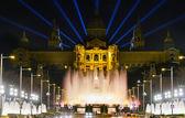 Monumentale fontana a barcellona — Foto Stock