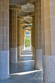 Salle hypostyle du parc guell — Photo