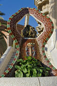 Fountain at Parc Guell — Stock Photo