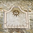 Stock Photo: Ancient sundial