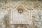 Ancient sundial — Stock Photo