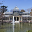 Cristal Palace in the Retiro Park, Madrid — Stock Photo