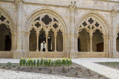 Monastery of Santa Maria de Poblet cloister — Stock Photo