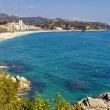 Lloret de Mar beach — Stock Photo #9970739