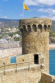 Věž tossa de mar, Španělsko — Stock fotografie