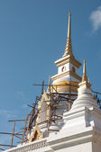 Thai temple stupa - unfinished — Stock Photo