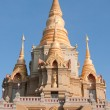 Stock Photo: Thai temple stupa