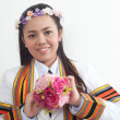Asithai attractive Graduate female student — Stock Photo #8385856