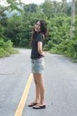 Asian thai attractive woman — Stock Photo