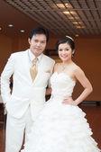 アジアの花嫁と花婿 — ストック写真