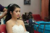 привлекательные молодая невеста — Стоковое фото