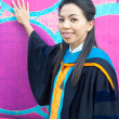 Asian graduate college student woman — Stock Photo